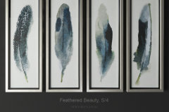 Uttermost feathered beauty s 4