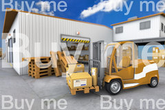 Warehouse with truck ar3 0004